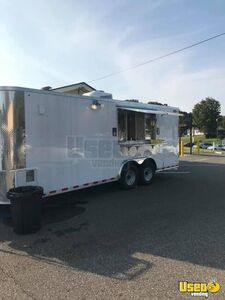 2020 - 8.6' x 20' Lightly Used Mobile Kitchen Food Concession Trailer for Sale in North Carolina!