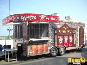Turnkey 2013 8' x 24' Custom-Designed Mobile Pub and Kitchen on Wheels for Sale in North Carolina!