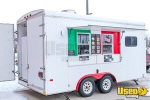 Super Neat Turnkey United 8.5' x 16' Kitchen Food Trailer/Mobile Food Unit for Sale in North Dakota!