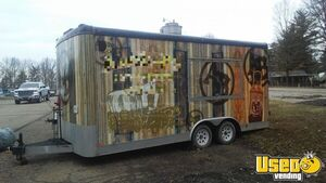 2009 - 8' x 18' Used Food Concession Trailer for Sale in Ohio!!!