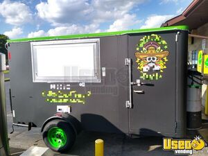 2000 - 6.5' x 12' Food Concession Trailer with 2019 Kitchen for Sale in Ohio!!!