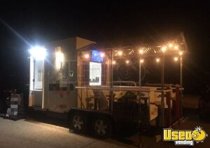 2018 - 8.5' x 18' Food Concession Trailer with Porch for Sale in Ohio!!!