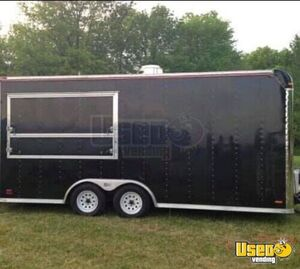 8.5' x 18' Kitchen Food Trailer with Pro-Fire Suppression System for Sale in Ohio!