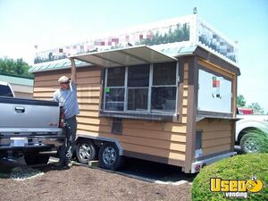 Used 8' x 20' Food Concession Trailer / Mobile Kitchen Unit  for Sale in Ohio! - Works Great!