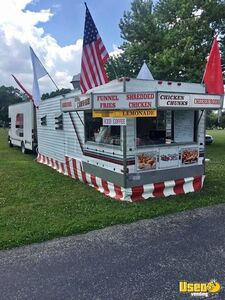 Turnkey Business 2006 Food Concession Trailer & Ford Truck Combo Both for Sale in Ohio!
