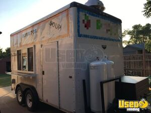 Wells Cargo 8' x 14' Kitchen Food Trailer/Used Mobile Food Unit for Sale in Oklahoma!