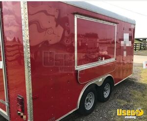 2016 - 8.5' x 16' Cargo Craft Expedition Food Concession Trailer Mobile Kitchen for Sale in Oklahoma!