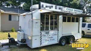 Food / Shaved Ice Concession Trailer for Sale in Oklahoma!!!