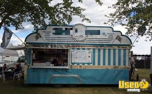 Turn-Key 2004 Custom-Built 8' x 20' Vintage Diner Style Food Concession Trailer for Sale in Ontario!