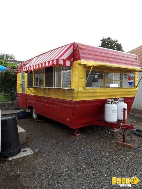 Remodeled 7.6' x 18' Prow Upgraded Kitchen Food Concession Trailer for Sale in Oregon!