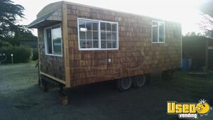 2015 - 8' x 20' Food Concession Trailer / Used Pop-Up Kitchen for Sale in Oregon!!