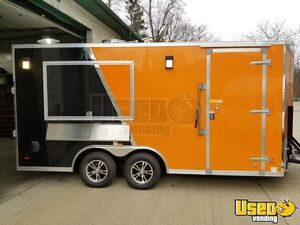 2019 - TURNKEY 8.5' x 16' Food Concession Trailer for Sale in Pennsylvania!!!
