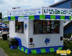 18' Used Street Food Trailer with 2013 Build Kitchen for Sale in Pennsylvania!!!