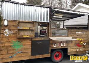 Rustic Cabin Style 2019 - 8' x 14.3' Mobile Kitchen Food Concession Trailer for Sale in Pennsylvania!