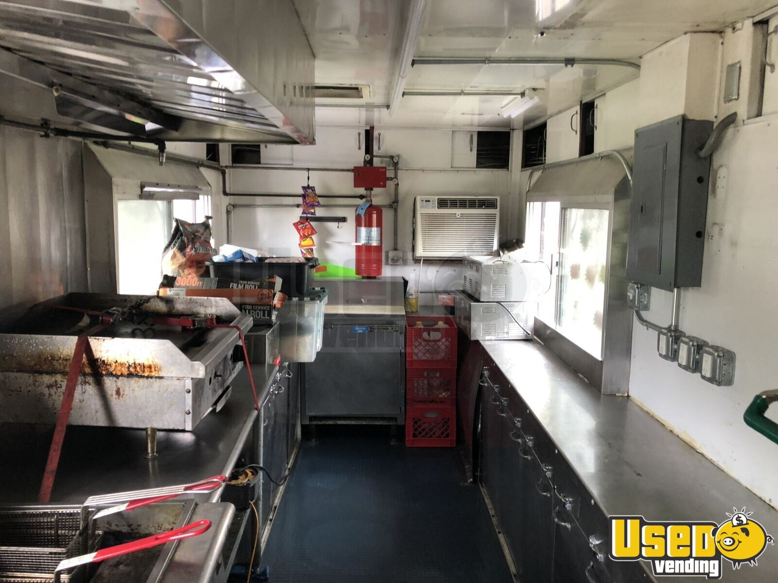 Kitchen Food Trailer Pro Fire Suppression System Pennsylvania for Sale - 10