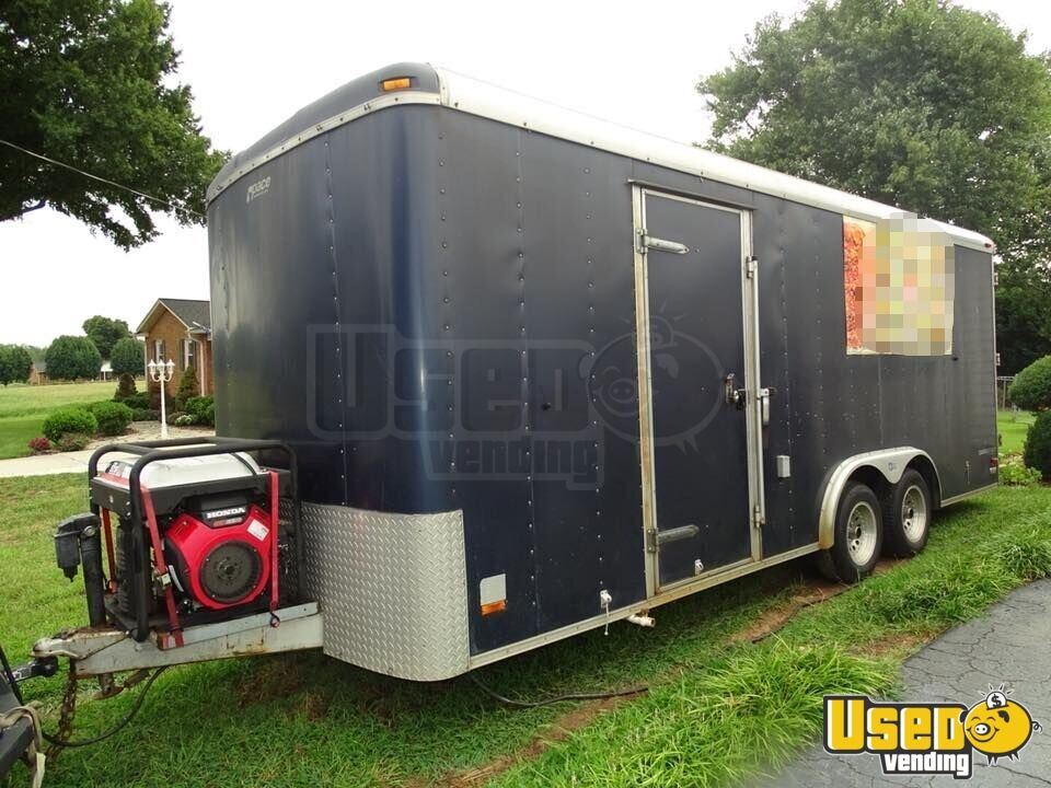 Kitchen Food Trailer Propane Tank North Carolina for Sale - 5