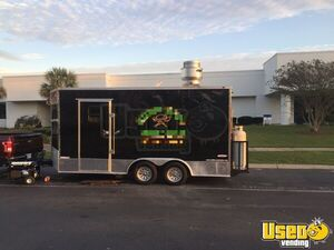 2017 8.5' x 16' Freedom Food Concession Trailer w/ Very Clean Kitchen for Sale in South Carolina!
