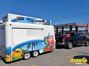 Shaved Ice & Food Concession Trailer for Sale in South Carolina!