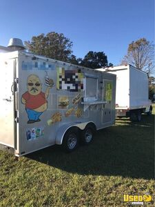 Used Food Concession Trailer with 2006 GMC Savana 3500 Box Truck for Sale in South Carolina!!!