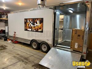 2015 Freedom 6' x 22' Food Concession Trailer with 6' Porch & 16' Kitchen for Sale in South Dakota!