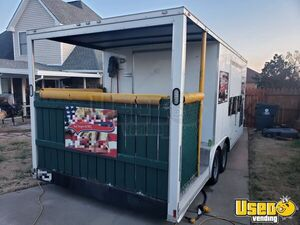 Turnkey 2018 - 8.5' x 20' Rock Solid Cargo Food Concession Trailer with Porch for Sale in Tennessee!