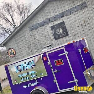 Used 6' x 12' -  2016 Commercial Food Concession Trailer for Sale in Tennessee!