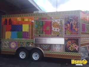 2017 - 8.5' x 16' Food Concession Trailer for Sale in Tennessee!!!
