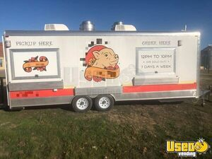 Well-Equipped 24'  Kitchen Food Concession Trailer w/ Restroom for Sale in Texas!