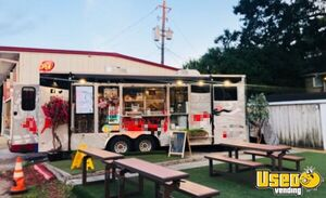 2018 - 8.5' x 24' Food Concession Trailer for Sale in Texas!!!