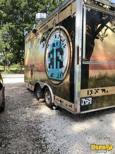2010 Cargomate 8' x 16' Kitchen Food Trailer with Interior Bathroom for Sale in Texas!