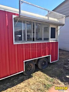 Used 7' x 12' Wells Cargo Food Concession Trailer Ready for your Personal Touch for Sale in Texas!!!