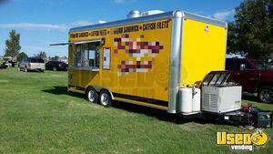 2015 - 8.5' x 20' Mobile Kitchen Food Concession Trailer for Sale in Texas!!!