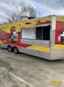 Ready to Serve 2016 - 8.5' x 20' Mobile Kitchen Food Concession Trailer for Sale in Texas!!