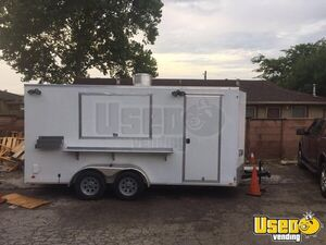 2016 Cargo Mate E-Series 7.5' x 16' Kitchen Trailer with 2007 Dodge Ram 1500 for Sale in Texas!!