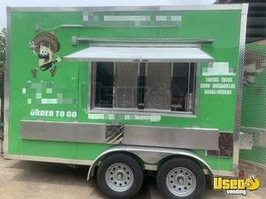 2019 - 8' x 12' Loaded Mobile Kitchen Trailer Super Clean Food Concession for Sale in Texas!!