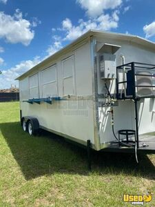 2019 7' x 20' Food Concession Trailer with New Commercial Kitchen for Sale in Texas!!