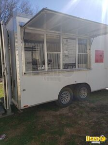 Turnkey 2009 Cook Rite 7' x 16' Kitchen Food Trailer / Used Mobile Food Unit for Sale in Texas!