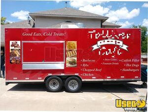 Loaded 2018 8.5' x 20'  Mobile Kitchen Food Concession Trailer for Sale in Texas!