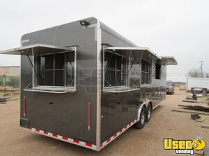NEW 2020 - 8.5' x 28' Made-to-Order Expedition Kitchen Food Concession Trailer for Sale in Texas!