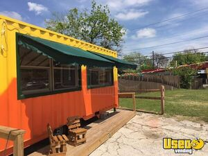 Used 2017 - 20' Shipping Container Mobile Food Unit Concession for Sale in Texas!