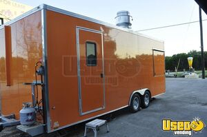 2019 - 8.5' x 22' WorldWide Food Concession Trailer with Commercial Kitchen for Sale in Texas!