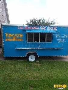 2015 - 7' x 14' Food Concession Trailer for Sale in Texas!!!