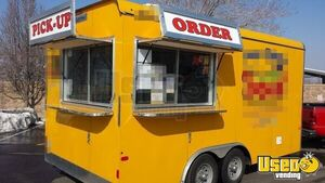 2015 - 8.6' x 16' Food Concession Trailer for Sale in Utah!!!