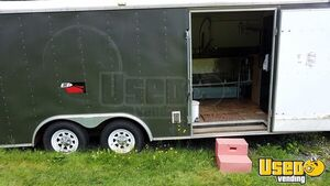 8.5′ x 20' Haulmark Mobile Kitchen Catering Trailer for Sale in Vermont!