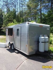 All-Electric 2007 - 8' x 16' Car Mate Mobile Kitchen Food Concession Trailer for Sale in Virginia!!!