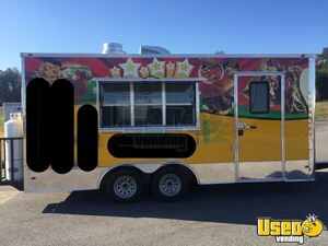 2018 Freedom 8.5' x 18' Loaded Food Concession Trailer with Commercial Kitchen for Sale in Virginia!