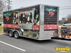 Never Used Fully Loaded 2019 8.5' x 16' Food Concession Trailer/Mobile Kitchen for sale in Virginia!