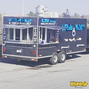 8' x 20' - 2009 Used Food Concession Trailer for Sale in Virginia!!!