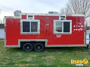 Ready for Business Mobile Kitchen / Used Street Food Concession Trailer for Sale in Virginia!