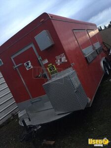 Never Used 2014 Lark Kitchen Concession Trailer with Pro Fire Suppression for Sale in Washington!